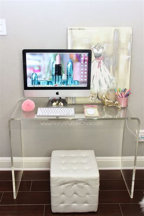 Room Desk Ideas Miss Liz Room Office Update New Desk Decorate Your Acrylics
