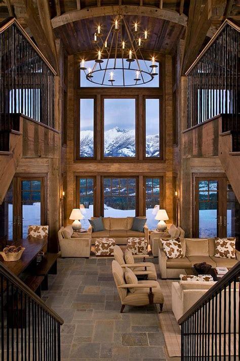 Modern Cabin Decor by 30 Id 233 Es De D 233 Coration De Salon Avec Un Style Rustique