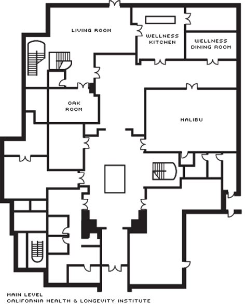 Practical Magic House Floor Plan westlake village meeting rooms amp event venue four
