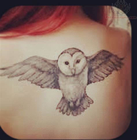 owl shoulder tattoo owl backdenenasvalencia