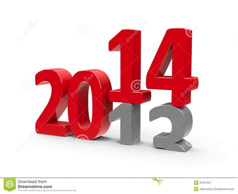new year represents 2013 2014 stock image image 33767501
