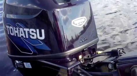 mercury outboard motor break in 30 hp tohatsu 4 stroke break in funnydog tv