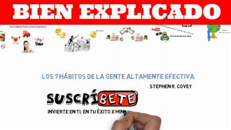 Resumen 7 Habitos by Los 7 H 225 Bitos De La Gente Altamente Efectiva De Stephen R