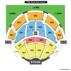 Garden State Arts Center Concerts Pnc Bank Arts Center Holmdel Nj Seating Chart View