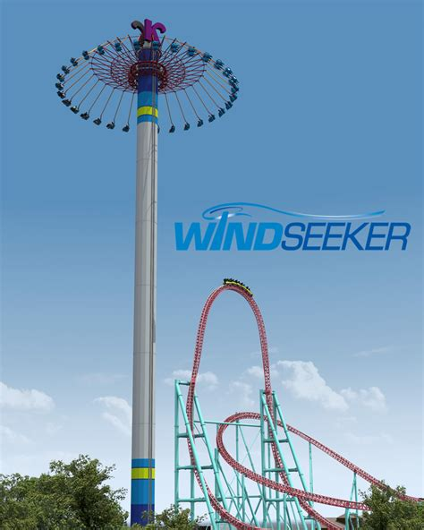 cedar point swing ride windseeker