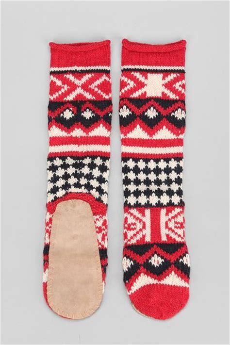 mukluk slipper socks outfitters mukluk slipper sock in for blue