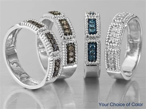 delicious mocha diamond rings jewelry television www