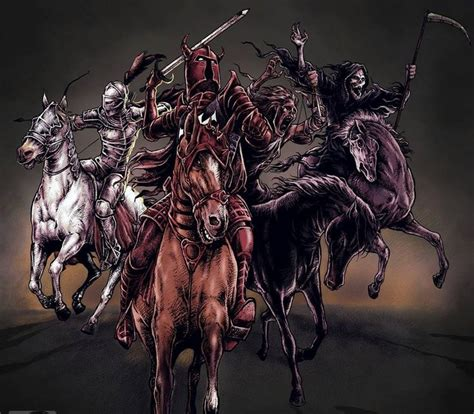 horseman tattoo designs 21 best four horsemen ideas images on