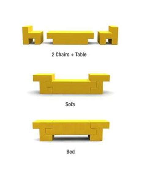 Luxury Culture 8163 3 2in1 multipurpose furniture bed sofa
