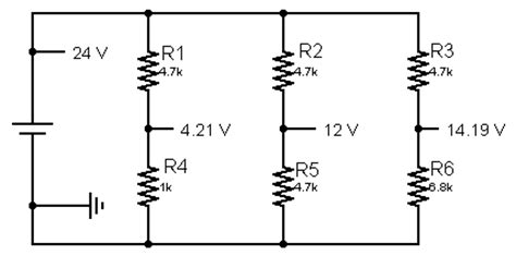 voltage divider with capacitor in parallel s electronics and tech stuff