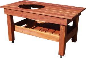 Primo Grill Table Plans Big Green Egg Table Large Ebay