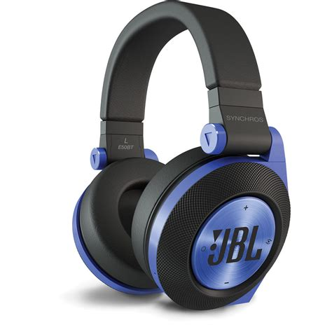Headphone Bluetooth Jbl Jbl Synchros E50bt Bluetooth On Ear Headphones Blue E50btblu