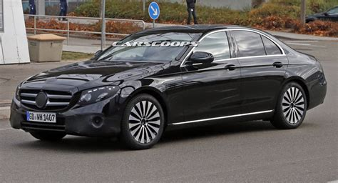 mercedes e class sedan 2017 mercedes e class sedan spied virtually undisguised