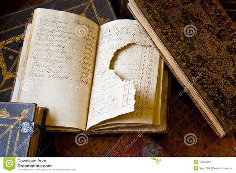 damaged books damaged book data loss stock images image 13276764