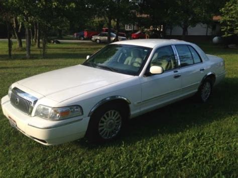 how make cars 2007 mercury grand marquis security system purchase used 2007 mercury grand marquis ls sedan 4 door 4 6l in curtice ohio united states