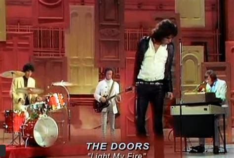 The Doors Ed Sullivan Show by Densmore Drummer For The Doors Snarling As Hell