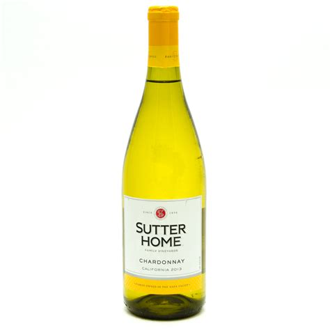 sutter home chardonnay 750ml wine and liquor