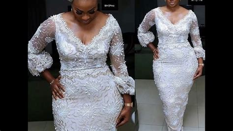 youtube c kan new style for 2016 2017 glamorous asoebi gown lace styles 2016 2017 youtube