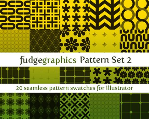 illustrator free transform tool and pattern graphic pattern set 2 by fudgegraphics on deviantart