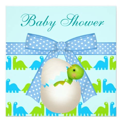 dinosaur baby shower invitations newly hatched baby dinosaur baby shower invitation