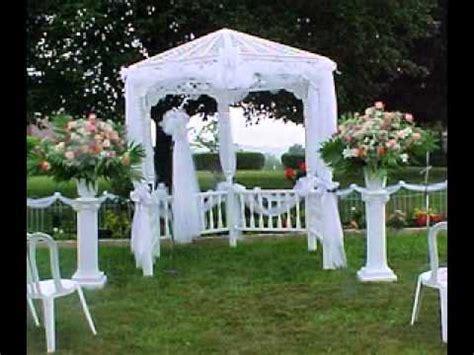 diy outdoor wedding decoration ideas 2 diy outdoor wedding decorations