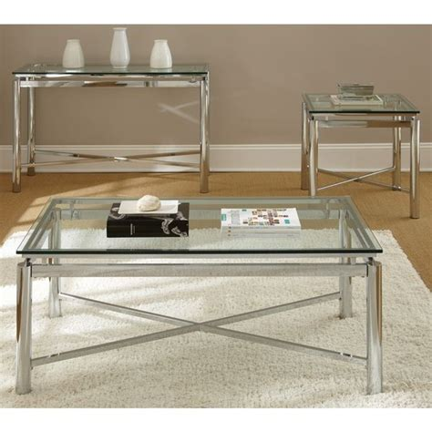 chrome glass coffee table 25 best ideas about glass coffee tables on