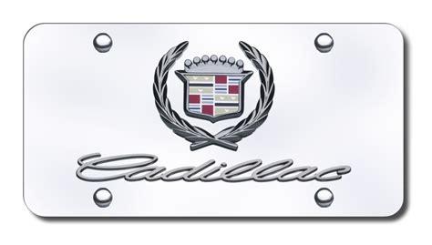 Cadillac Vanity Plates by Cadillac Name And Logo License Plate Logo Cadillac