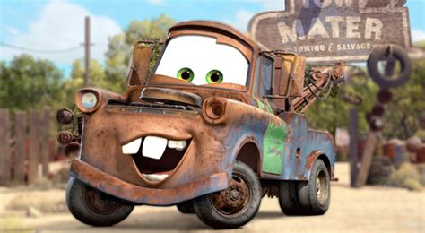 cars characters mater get in gear with our cars characters gallery anons best