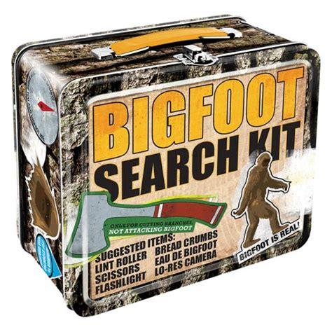 Big Foot Search Bigfoot Search Kit Lunch Box