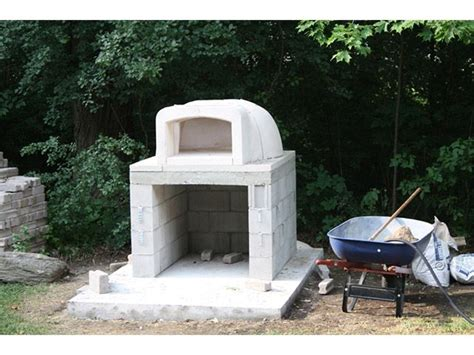 outdoor cinder block fireplace plans 1000 ideas about pizza oven kits on backyard