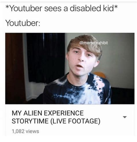 Disabled Meme - funny youtuber memes of 2017 on sizzle story time