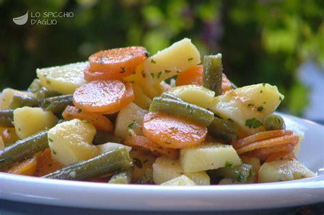cucinare carote lesse ricetta fagiolini con patate e carote le ricette dello