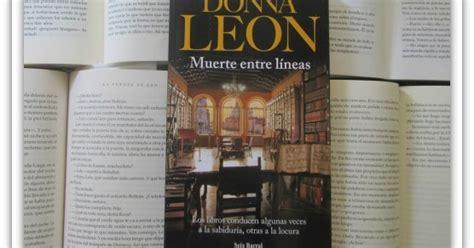 muerte entre lneas spanish leyendo con mar muerte entre lineas de donna leon