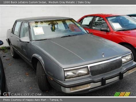 medium gray metallic 1990 buick lesabre custom sedan
