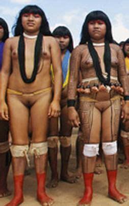Mujeres De Tribu Del Amazonas Desnudas Eromanías