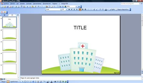 free hospital powerpoint templates