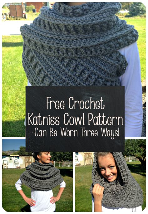 crochet pattern katniss cowl free crochet katniss cowl pattern thefriendlyredfox com