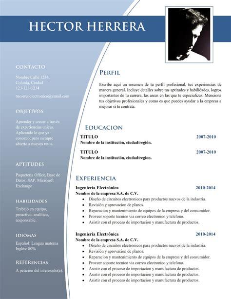 curriculum vitae formato editable plantilla cv curriculum vitae word resume doc editable 45 00 en mercado libre