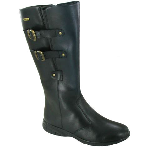 cotswold lacock black leather waterproof boot