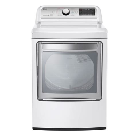 White Dryer Door by Lg Dlex7600we 7 3 Cu Ft Ultra Large Capacity Turbosteam