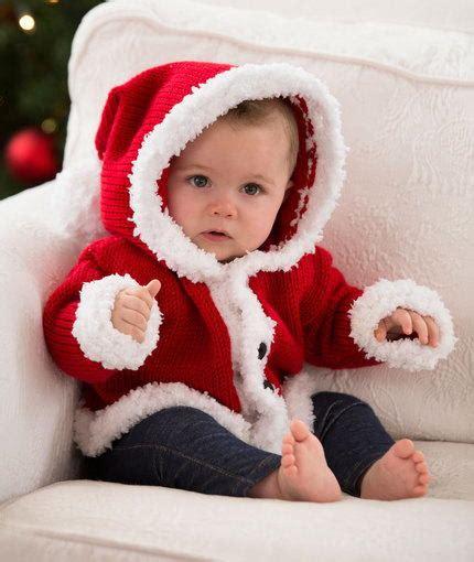 Santa Baby sweet santa baby sweater allfreeknitting