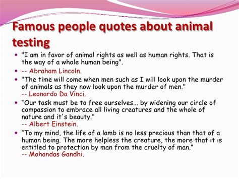 Animal Testing Benefits Essay by Testing On Animals Is Immor