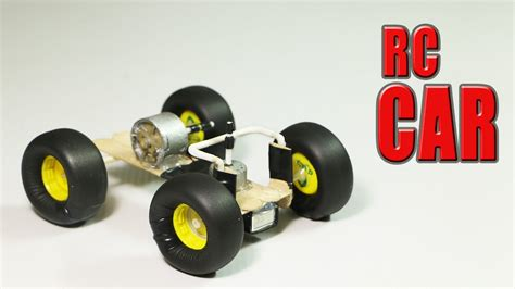 how to make a mini rc car how to make a simple rc car that goes in all directions