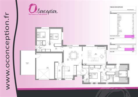 Plan De Maison Plain Pied 4 Chambres 3547 by Impressionnant Plan Maison 4 Chambres Plain Pied Ravizh