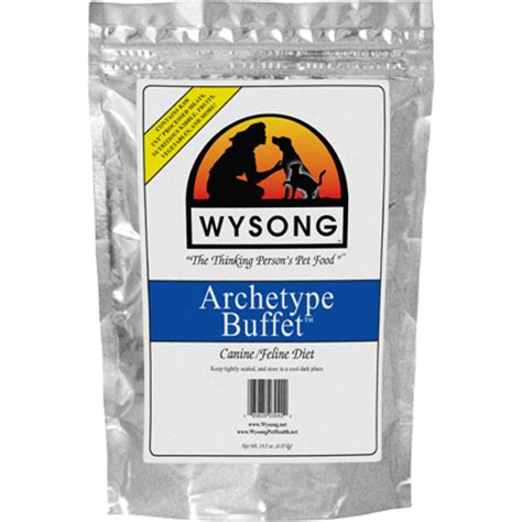 wysong food wysong archetype buffet freeze dried pet food 1800petmeds