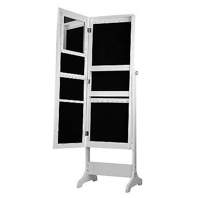 white jewelry armoire cabinet box organizer length