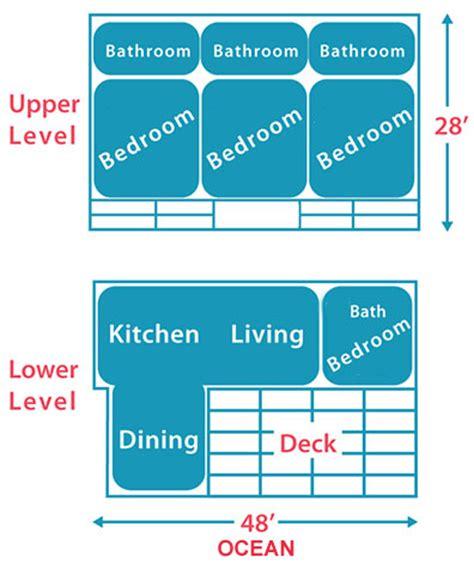 makena floor plan makena maui hawaii vacation rental home interior