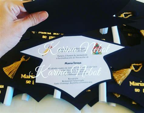 accesorios para graduacion invitaciones para graduaciones karina nebot junio 2016
