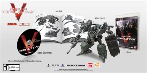Bd Ps3 Kaset Armored Verdict Day armored verdict day ps3 club namco edition announced gematsu