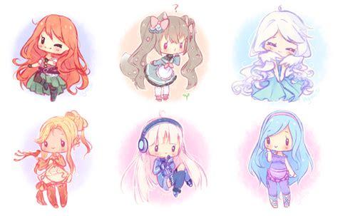 tutorial gambar anime chibi doodle chibis 1 by hyanna natsu on deviantart